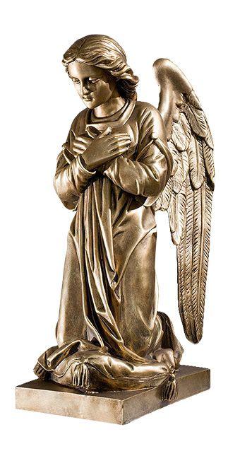 Aniol w modlitwie - Prawy - rzezba nagrobna