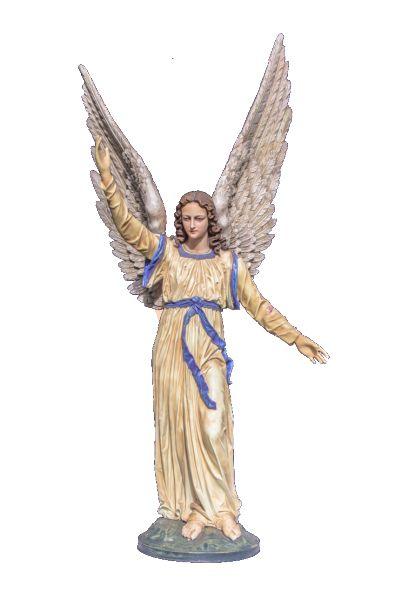 Aniol w modlitwie - rzezba nagrobna