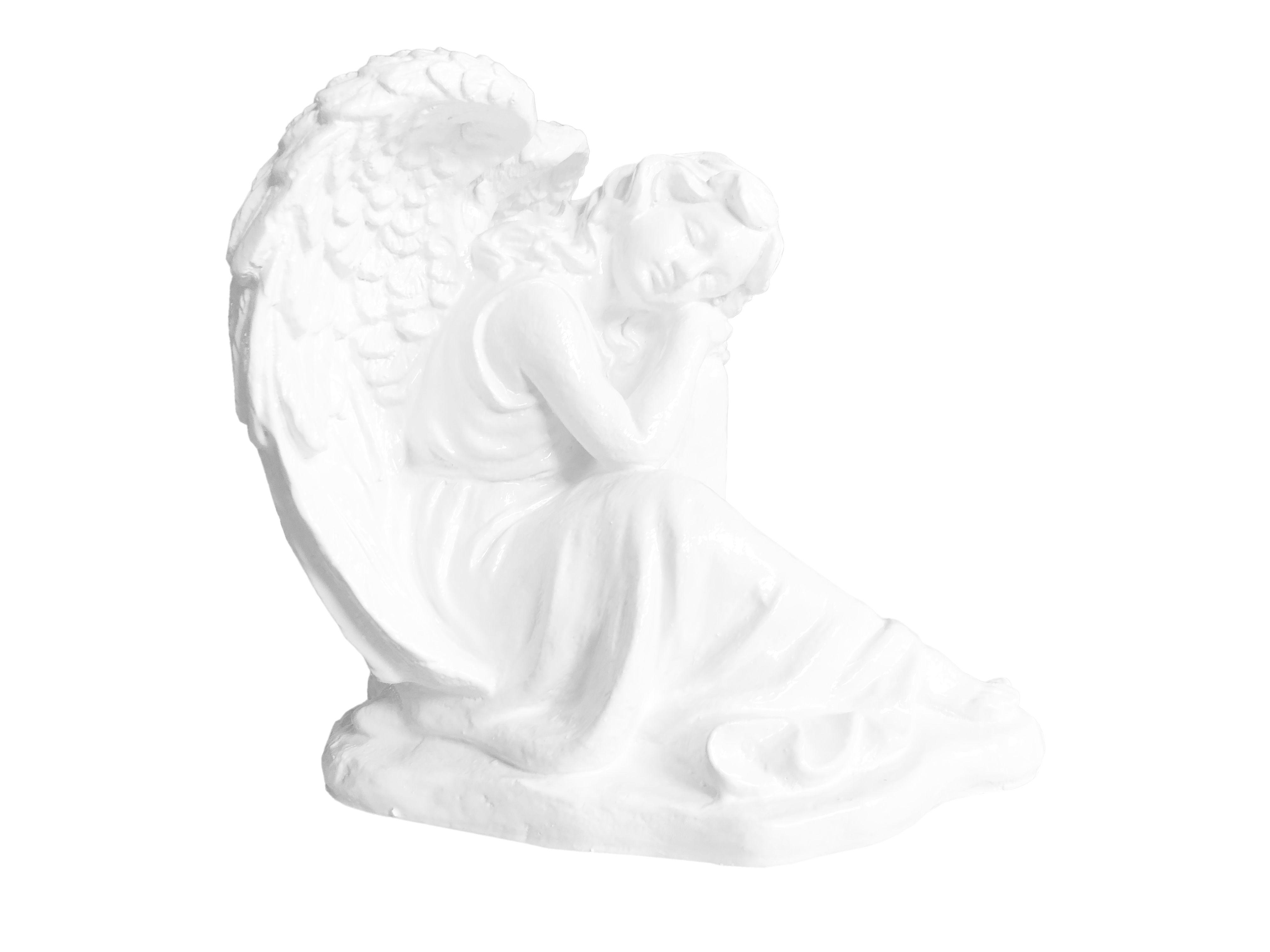Aniol spiacy - figura nagrobna