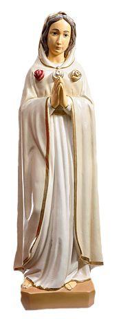 Matka Boza Roza Duchowna - rzezba nagrobna