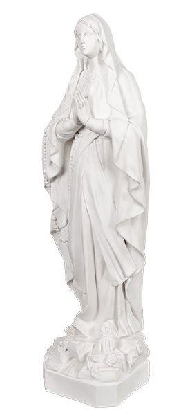 Matka Boza Rozancowa - rzezba nagrobna