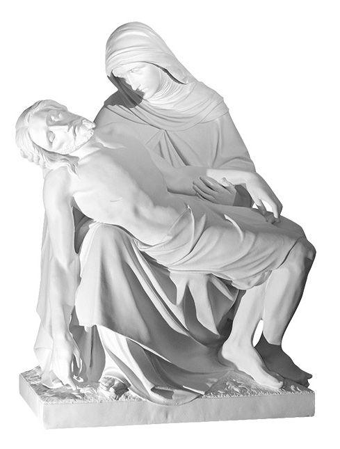Pieta wg Michala Aniola - rzezba nagrobna