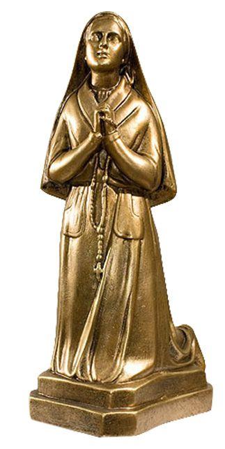 Postac w modlitwie - rzezba nagrobna